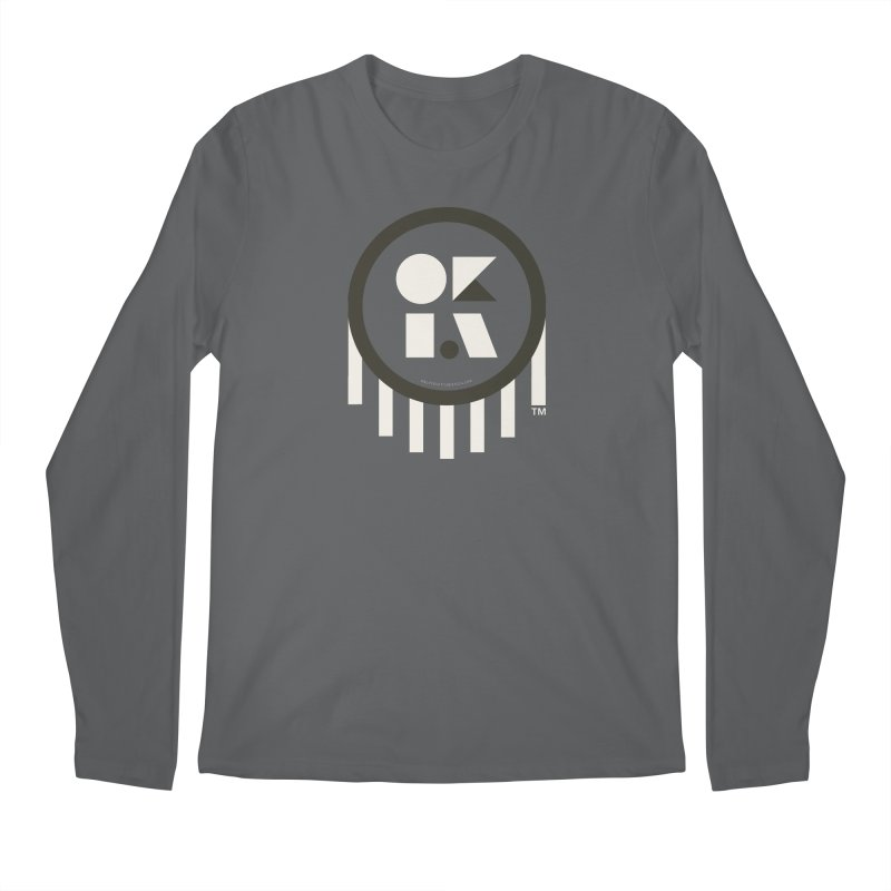 OKLAHOMA SHAPES Men's Longsleeve T-Shirt by walkingstickdesign's Artist Shop