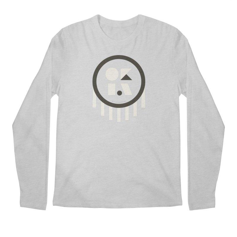 OKLAHOMA SHAPES Men's Regular Longsleeve T-Shirt by walkingstickdesign's Artist Shop