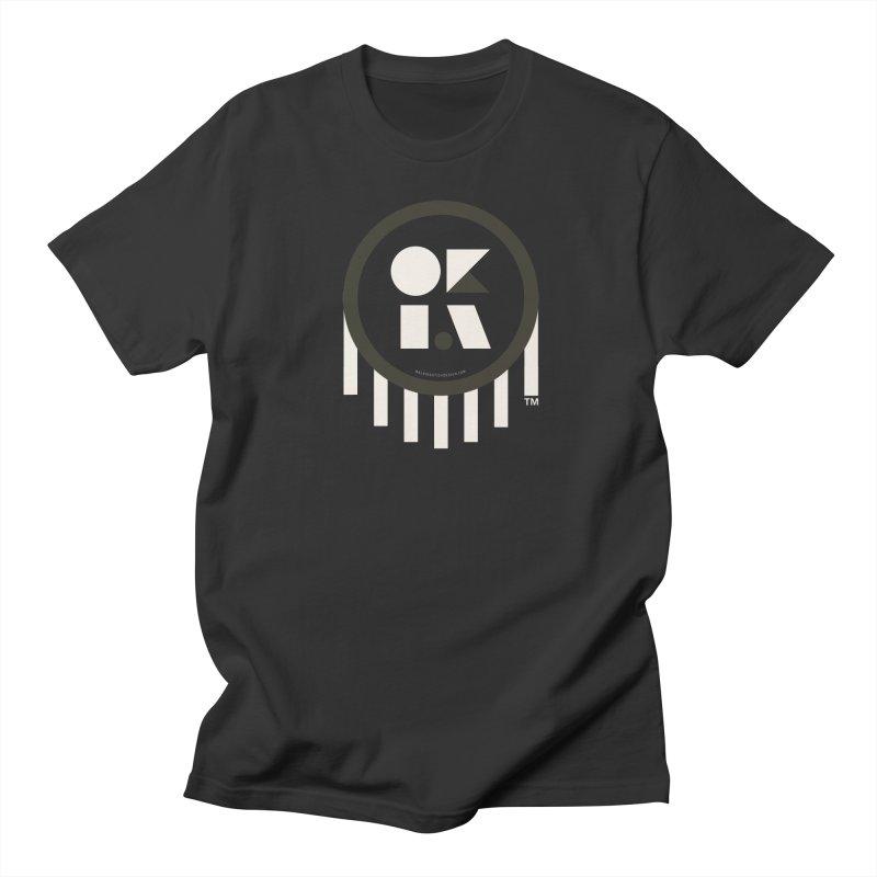 OKLAHOMA SHAPES Men's T-Shirt by walkingstickdesign's Artist Shop