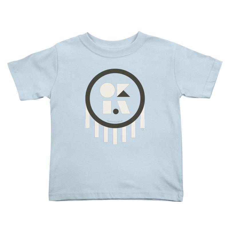 OKLAHOMA SHAPES Kids Toddler T-Shirt by walkingstickdesign's Artist Shop