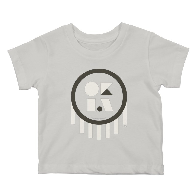 OKLAHOMA SHAPES Kids Baby T-Shirt by walkingstickdesign's Artist Shop