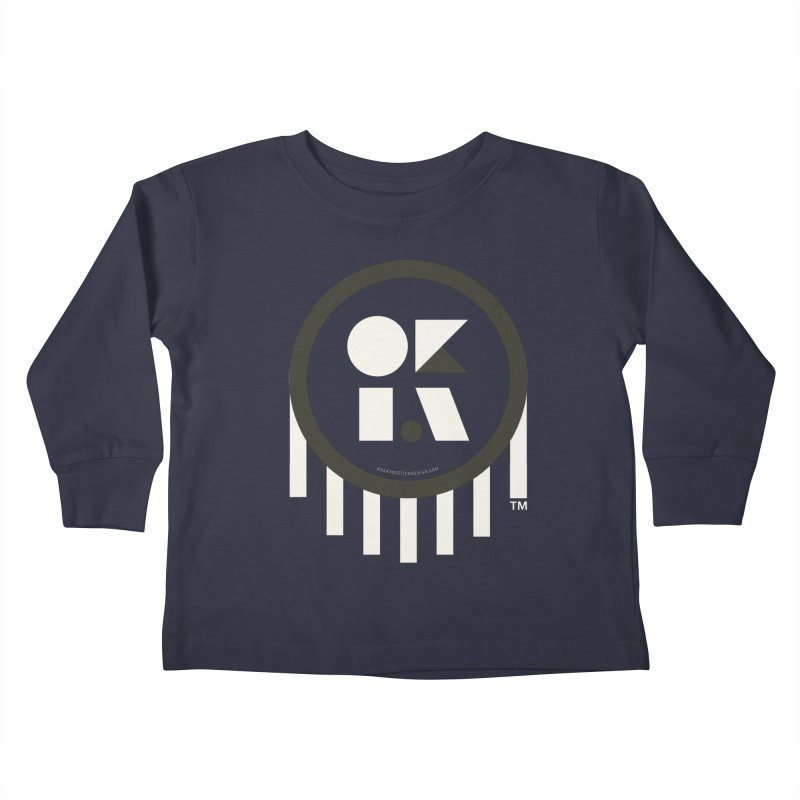 OKLAHOMA SHAPES Kids Toddler Longsleeve T-Shirt by walkingstickdesign's Artist Shop