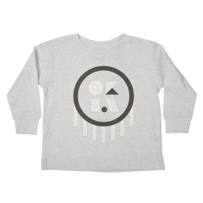 OKLAHOMA SHAPES Kids Toddler Longsleeve T-Shirt by walkingstickdesign's Artist Shop