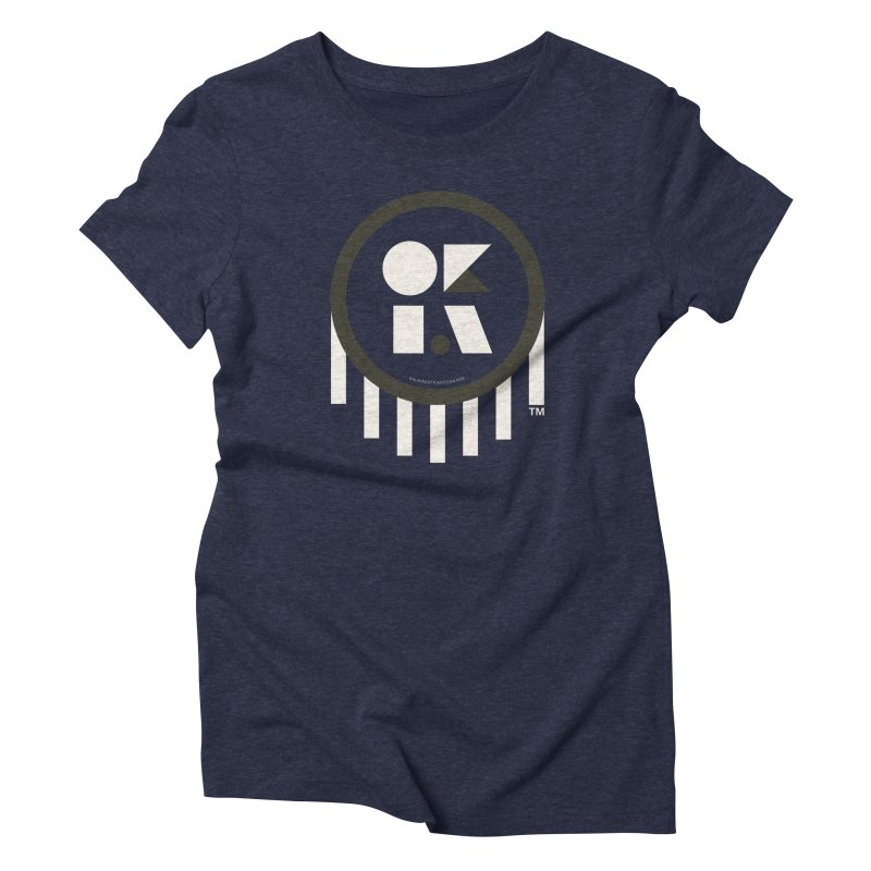 OKLAHOMA SHAPES Women's Triblend T-Shirt by walkingstickdesign's Artist Shop