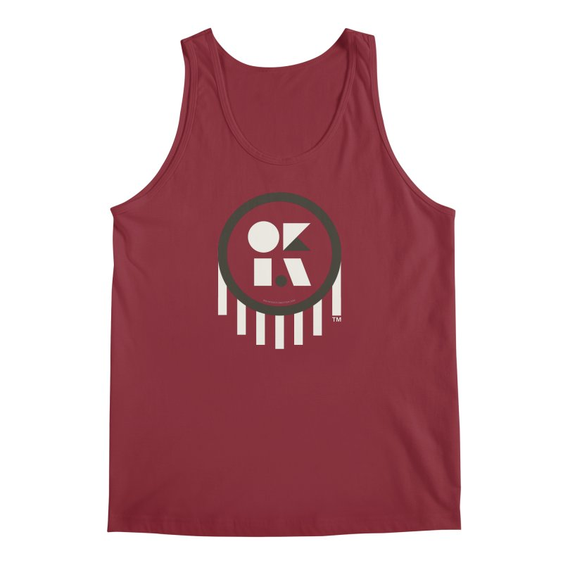 OKLAHOMA SHAPES Men's Tank by walkingstickdesign's Artist Shop