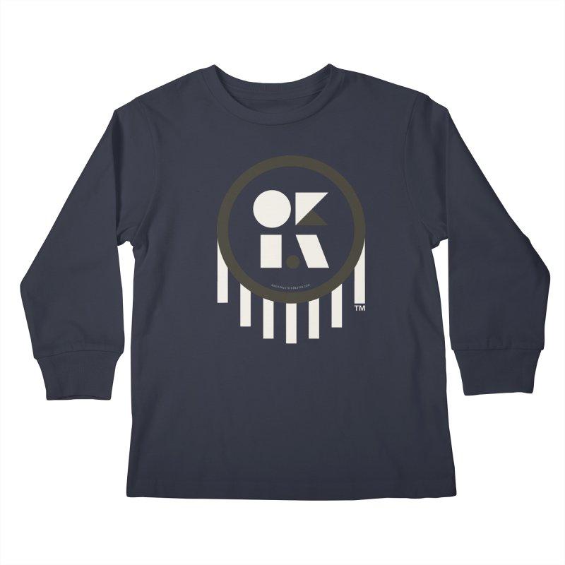 OKLAHOMA SHAPES Kids Longsleeve T-Shirt by walkingstickdesign's Artist Shop