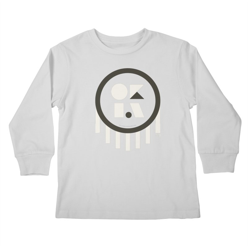 OKLAHOMA SHAPES Kids Longsleeve T-Shirt by walkingstickdesign's Artist Shop