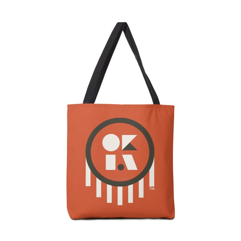 OKLAHOMA SHAPES Accessories Bag by walkingstickdesign's Artist Shop