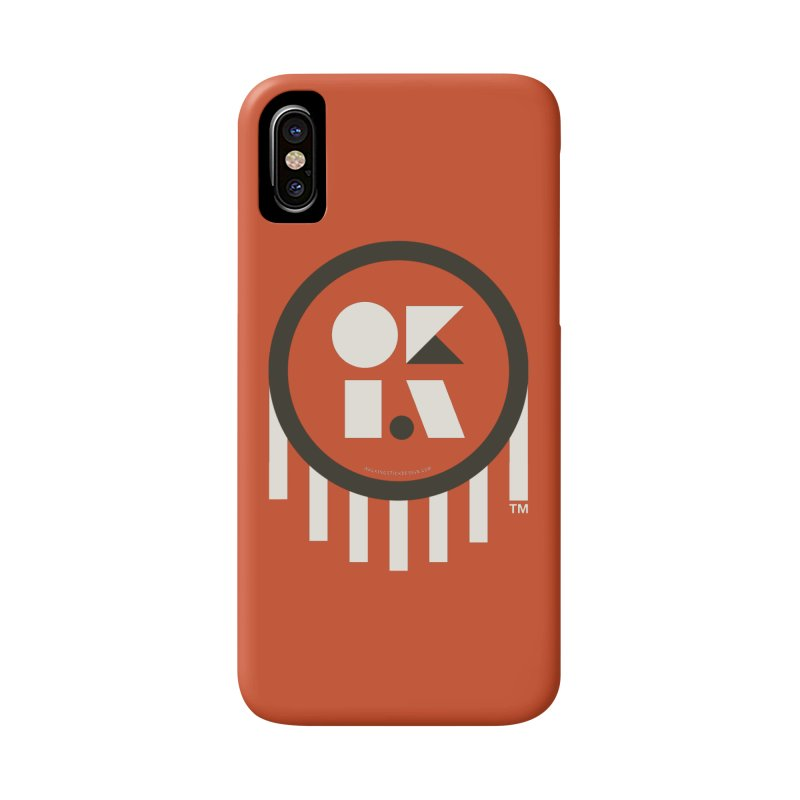 OKLAHOMA SHAPES Accessories Phone Case by walkingstickdesign's Artist Shop