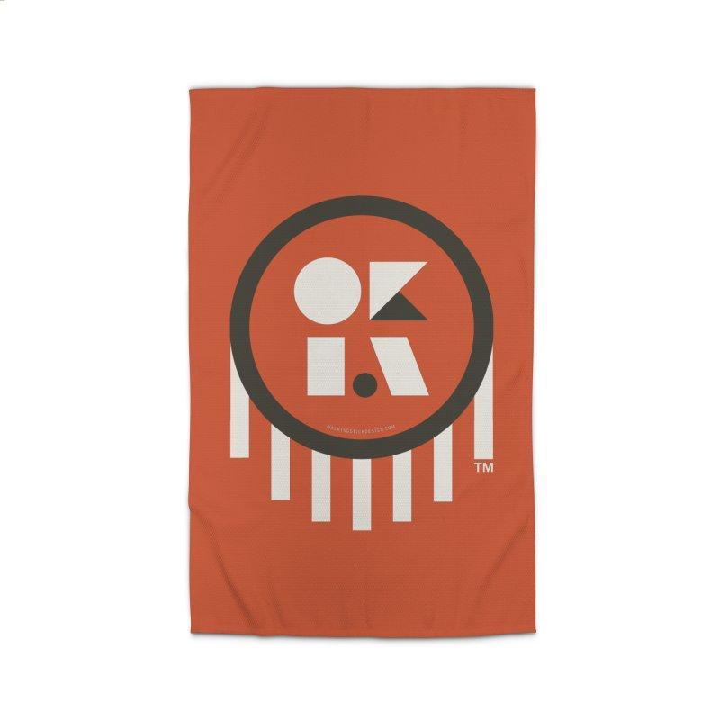 OKLAHOMA SHAPES Home Rug by walkingstickdesign's Artist Shop