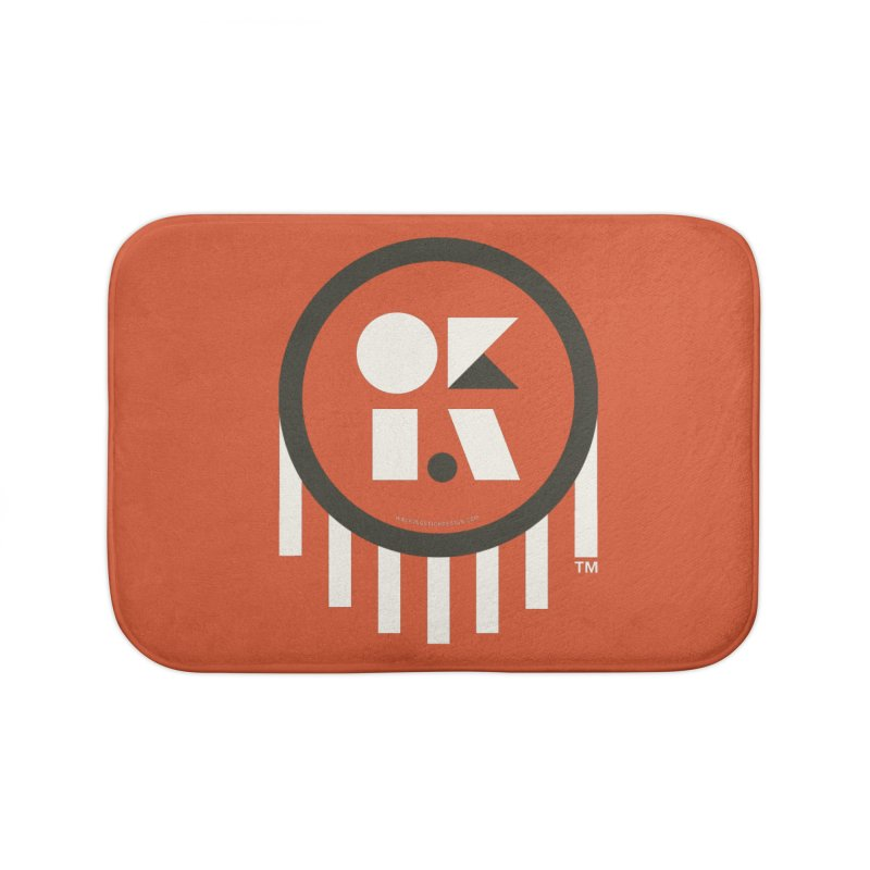 OKLAHOMA SHAPES Home Bath Mat by walkingstickdesign's Artist Shop
