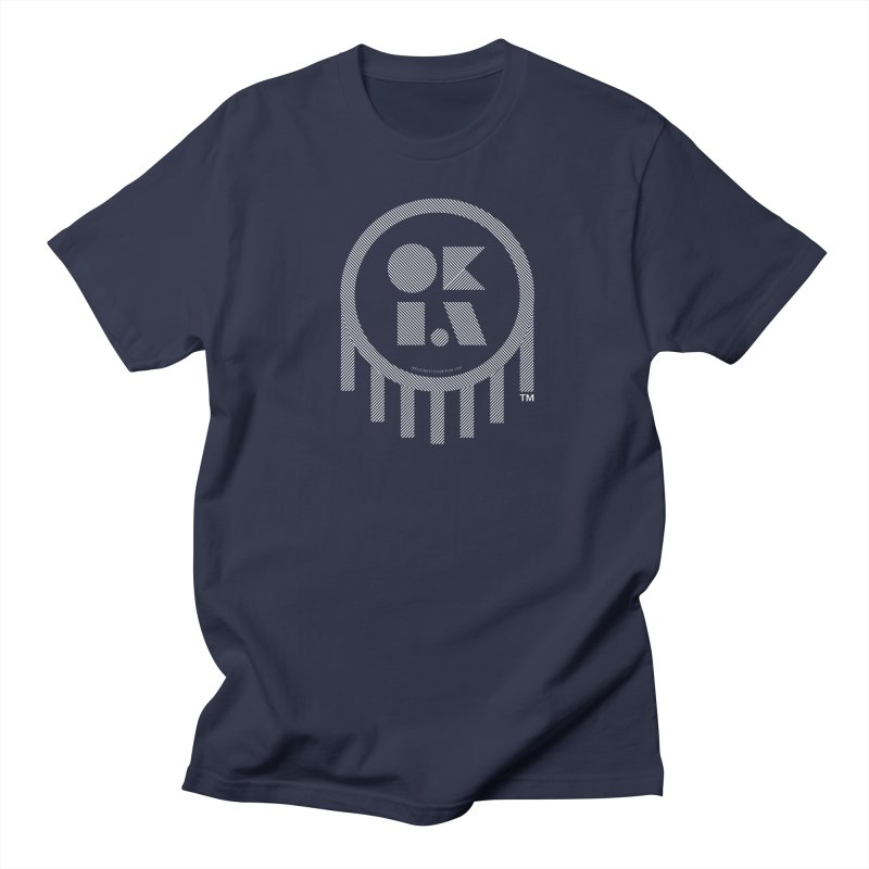 OKLAHOMA LINES Men's Regular T-Shirt by walkingstickdesign's Artist Shop