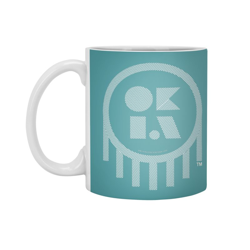 OKLAHOMA LINES Accessories Mug by walkingstickdesign's Artist Shop