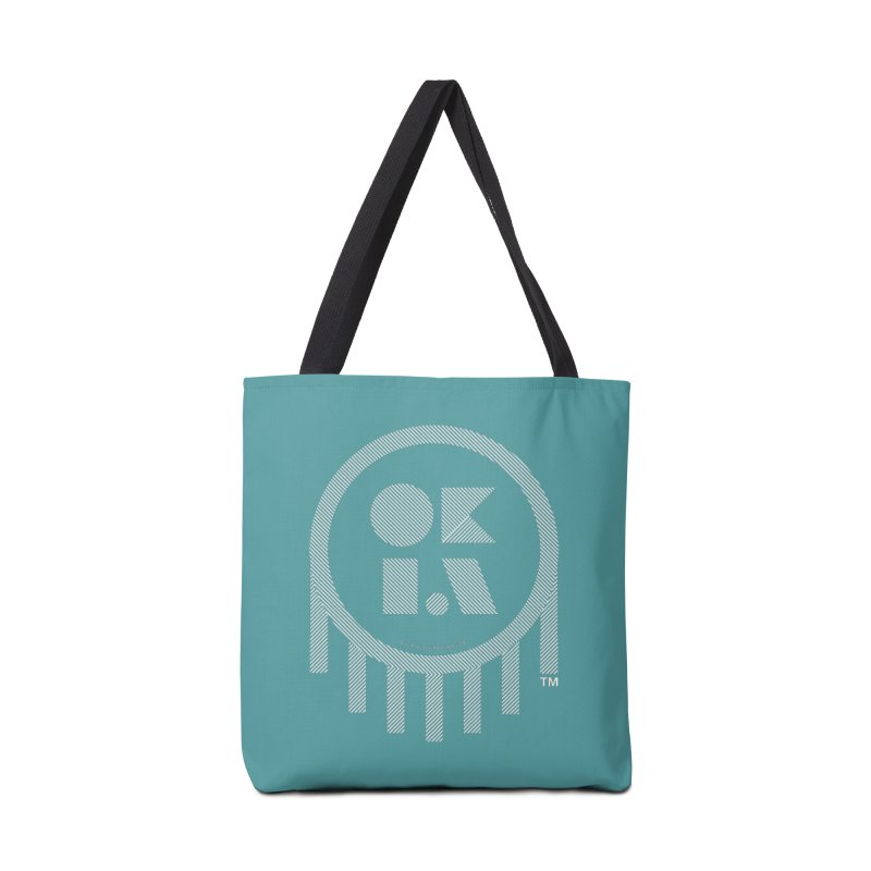OKLAHOMA LINES Accessories Bag by walkingstickdesign's Artist Shop