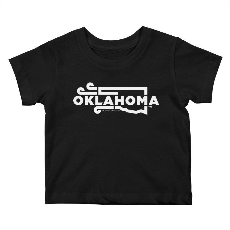 Okie Wind Kids Baby T-Shirt by walkingstickdesign's Artist Shop