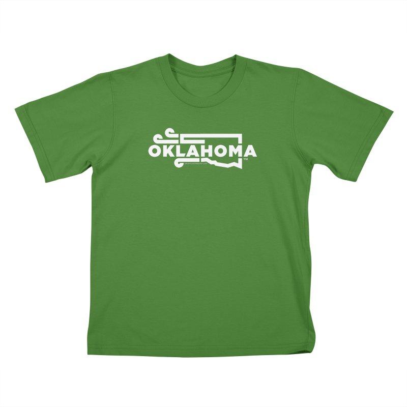 Okie Wind Kids T-shirt by walkingstickdesign's Artist Shop