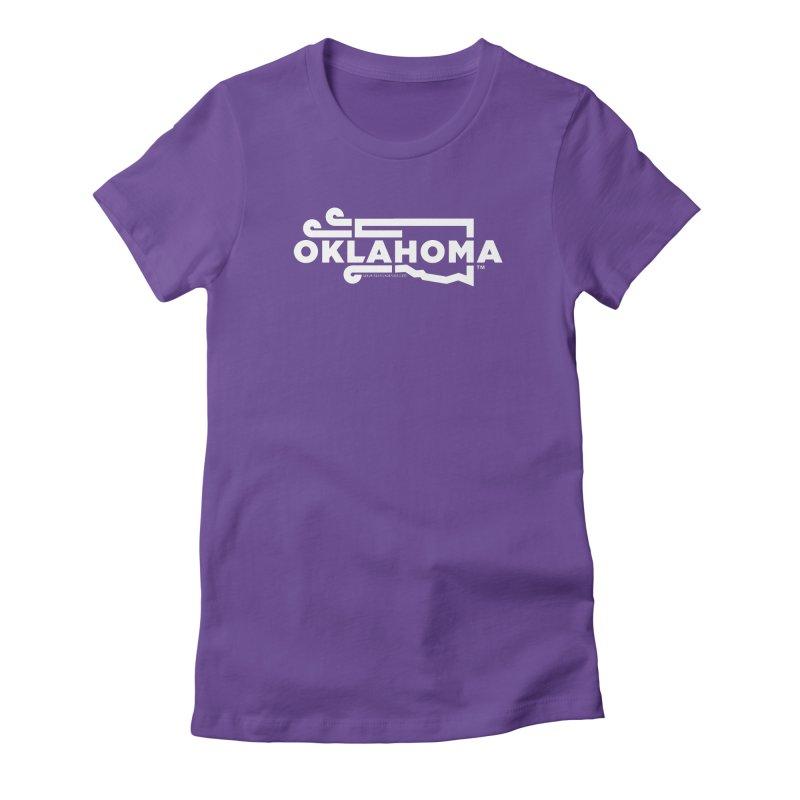 Okie Wind Women's Fitted T-Shirt by walkingstickdesign's Artist Shop