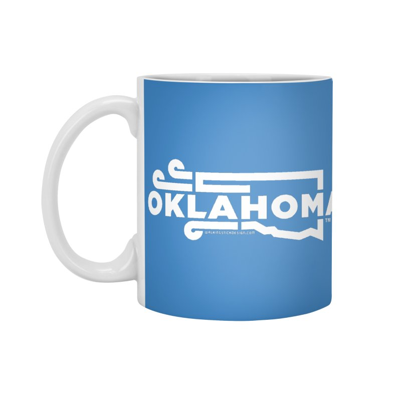 Okie Wind Accessories Mug by walkingstickdesign's Artist Shop