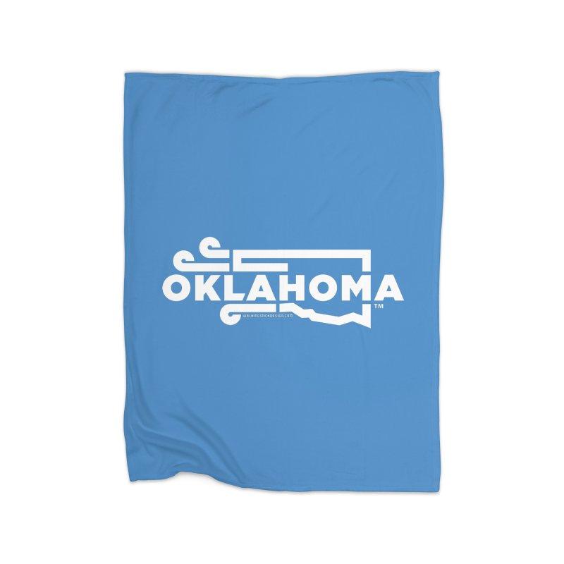 Okie Wind Home Blanket by walkingstickdesign's Artist Shop
