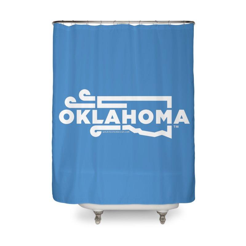 Okie Wind Home Shower Curtain by walkingstickdesign's Artist Shop