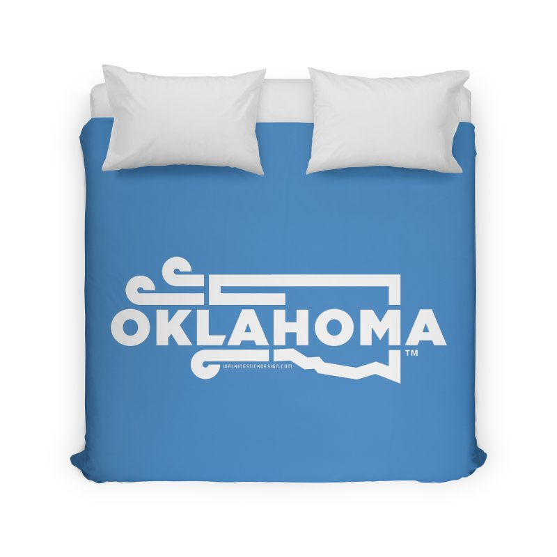 Okie Wind Home Duvet by walkingstickdesign's Artist Shop
