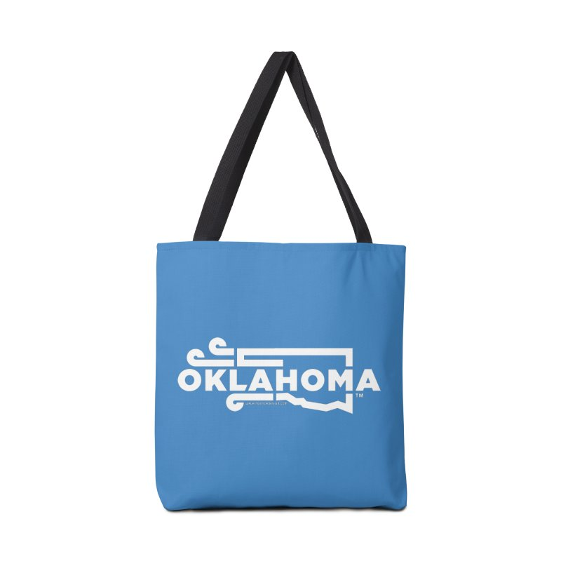 Okie Wind Accessories Bag by walkingstickdesign's Artist Shop