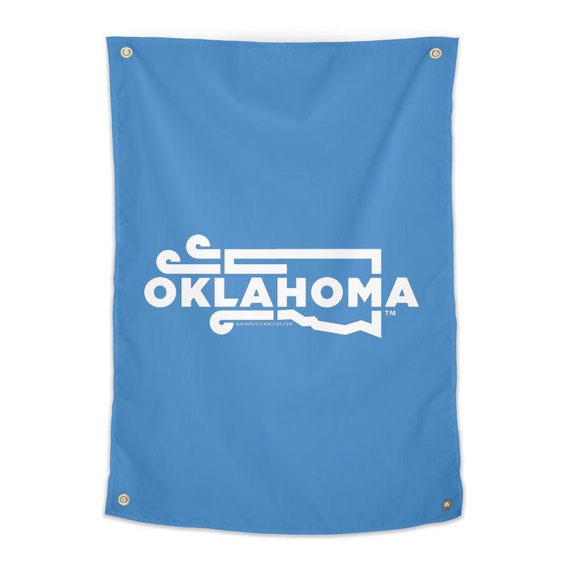 Okie Wind Home Tapestry by walkingstickdesign's Artist Shop