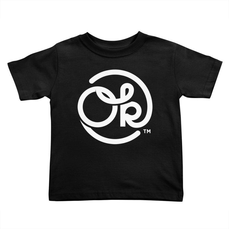OK Circle Kids Toddler T-Shirt by walkingstickdesign's Artist Shop