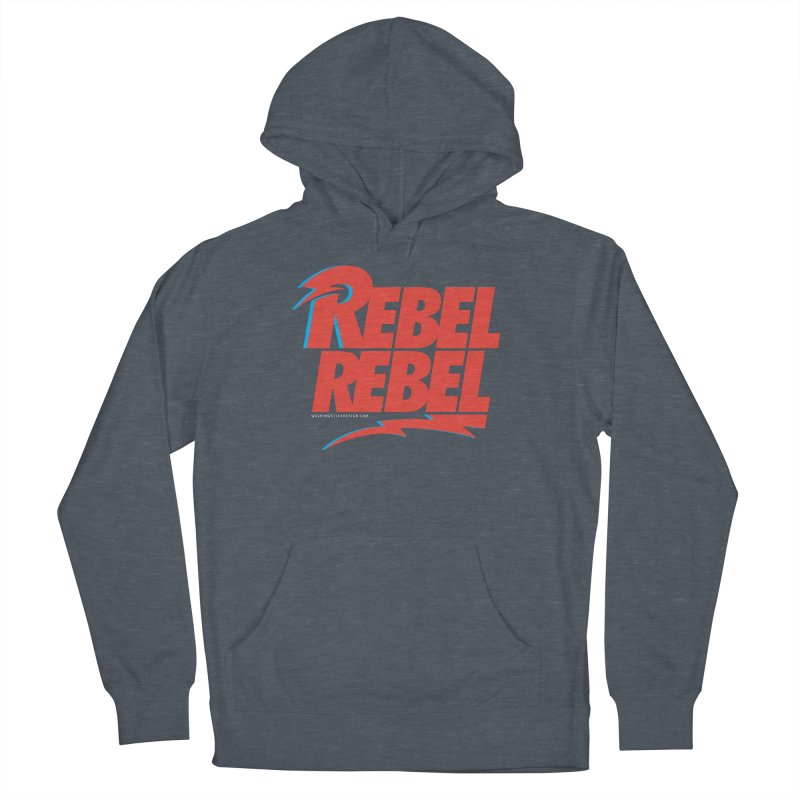 Rebel Rebel Shirt Men's Pullover Hoody by walkingstickdesign's Artist Shop