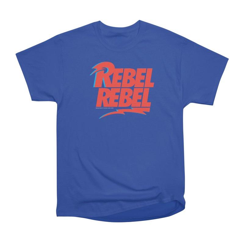 Rebel Rebel Shirt Men's Heavyweight T-Shirt by walkingstickdesign's Artist Shop