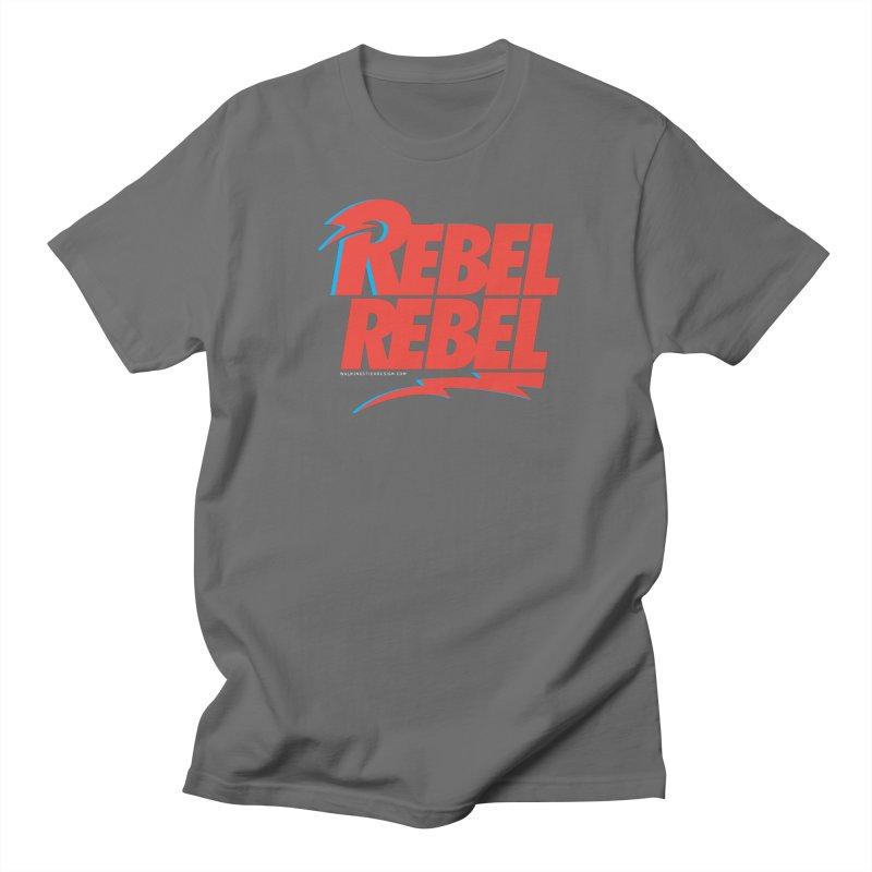 Rebel Rebel Shirt Women's Regular Unisex T-Shirt by walkingstickdesign's Artist Shop
