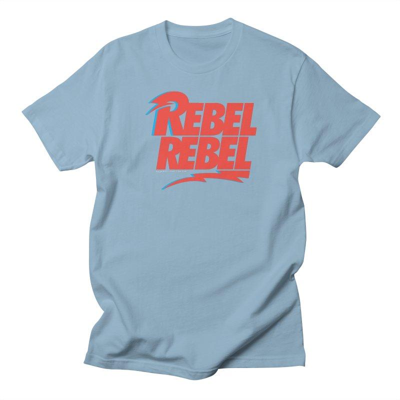Rebel Rebel Shirt Men's Regular T-Shirt by walkingstickdesign's Artist Shop