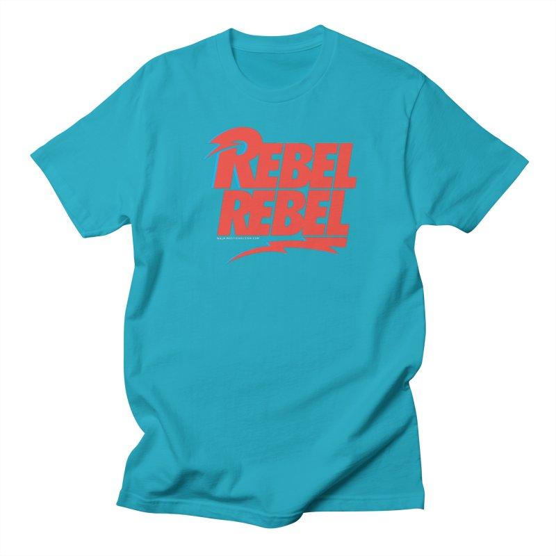 Rebel Rebel Shirt Men's T-shirt by walkingstickdesign's Artist Shop