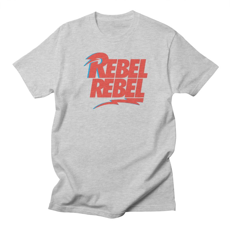 Rebel Rebel Shirt Women's Unisex T-Shirt by walkingstickdesign's Artist Shop