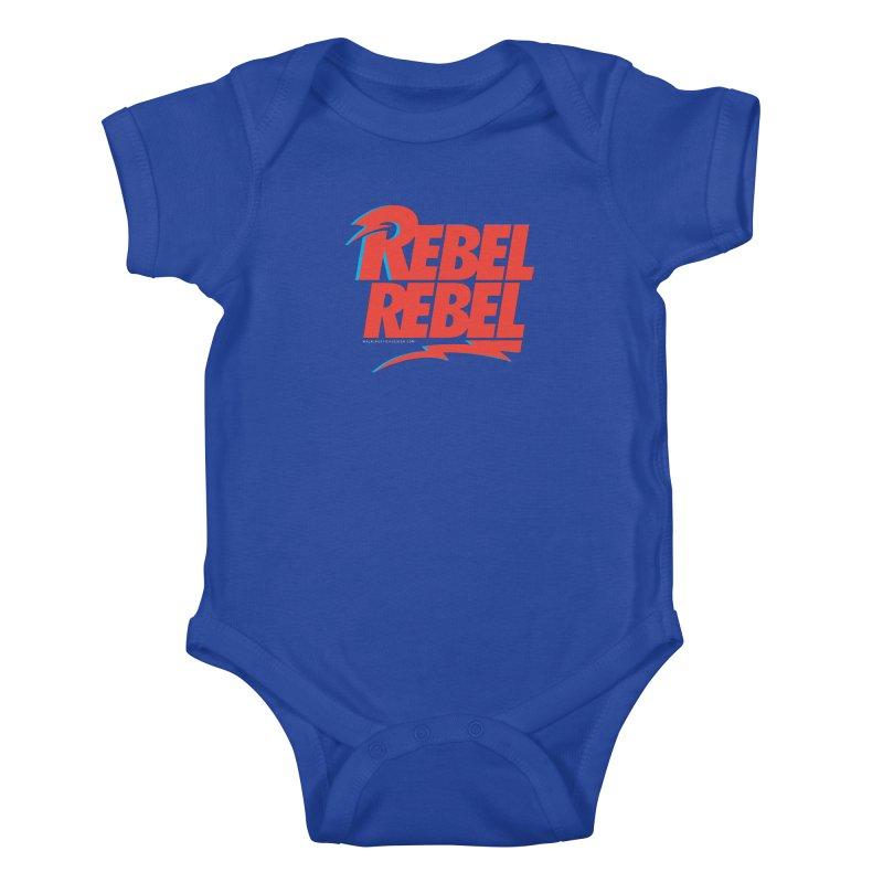Rebel Rebel Shirt Kids Baby Bodysuit by walkingstickdesign's Artist Shop