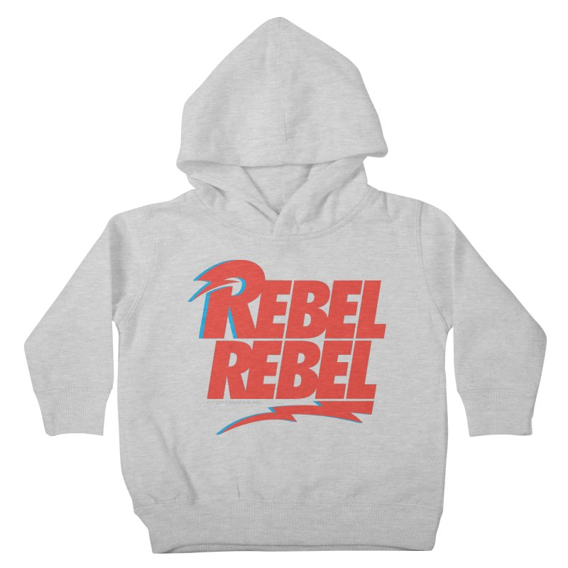 Rebel Rebel Shirt Kids Toddler Pullover Hoody by walkingstickdesign's Artist Shop