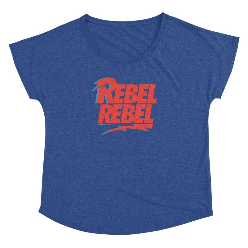 Rebel Rebel Shirt Women's Dolman by walkingstickdesign's Artist Shop