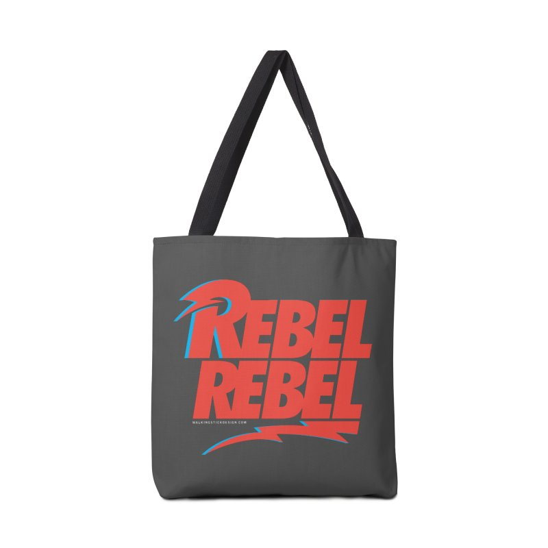 Rebel Rebel Shirt Accessories Bag by walkingstickdesign's Artist Shop