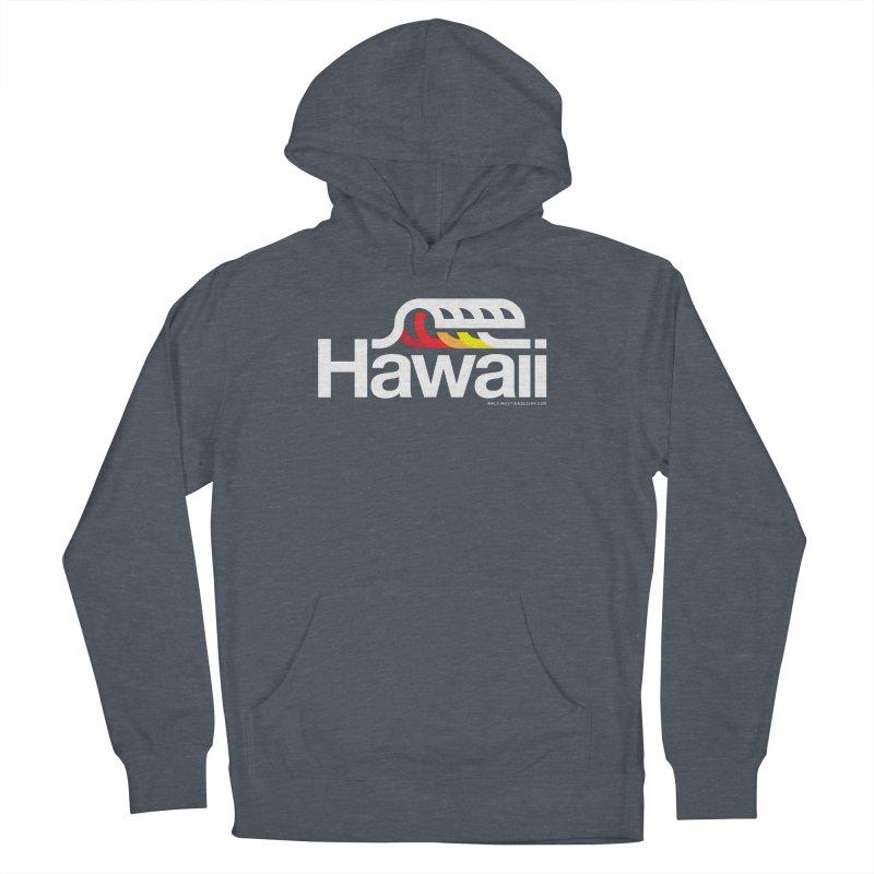 Hawaii Wave Women's Pullover Hoody by walkingstickdesign's Artist Shop