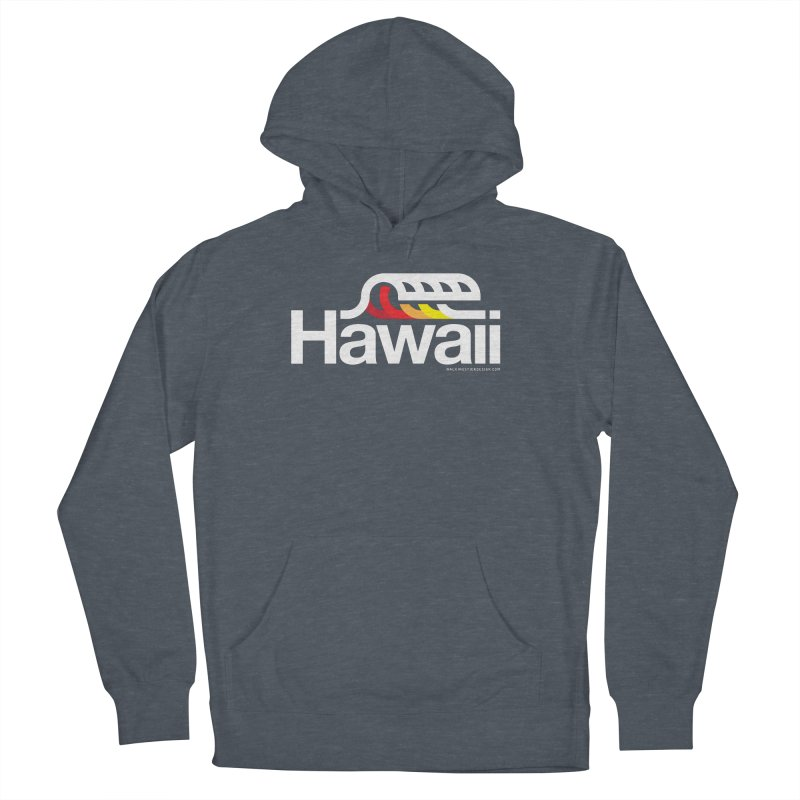Hawaii Wave Men's Pullover Hoody by walkingstickdesign's Artist Shop