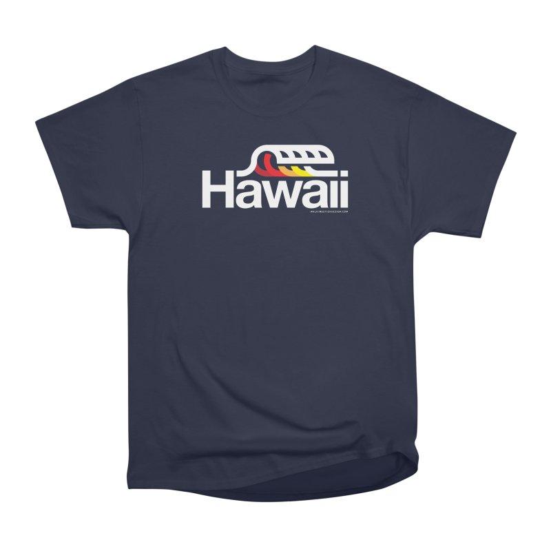 Hawaii Wave Women's Heavyweight Unisex T-Shirt by walkingstickdesign's Artist Shop