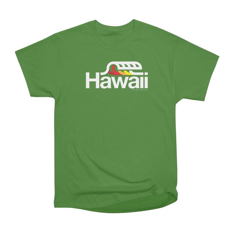 Hawaii Wave Women's Classic Unisex T-Shirt by walkingstickdesign's Artist Shop