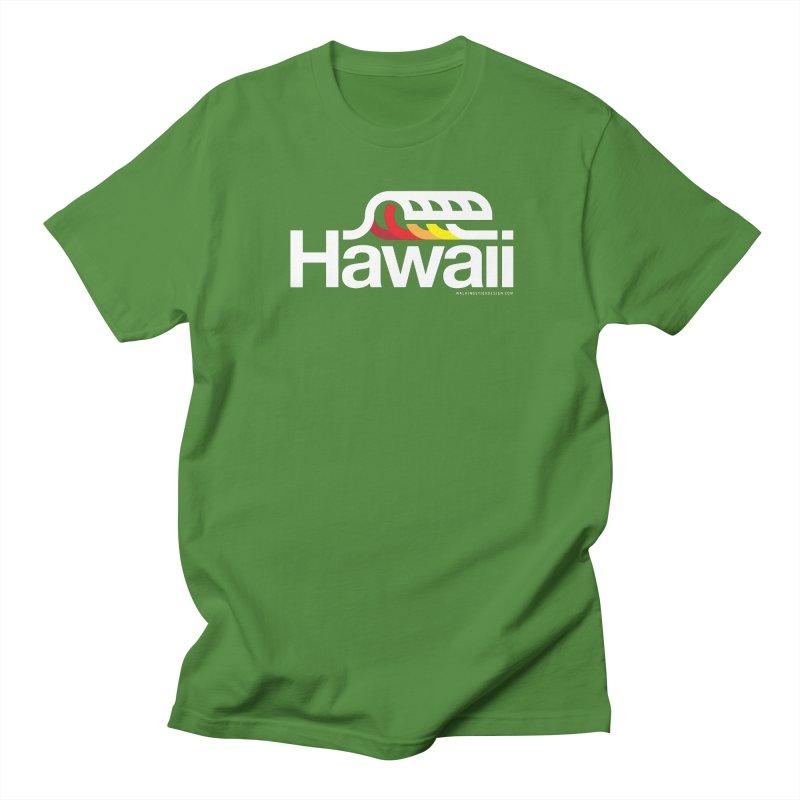 Hawaii Wave Women's Regular Unisex T-Shirt by walkingstickdesign's Artist Shop