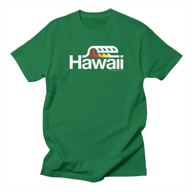 Hawaii Wave Women's Unisex T-Shirt by walkingstickdesign's Artist Shop