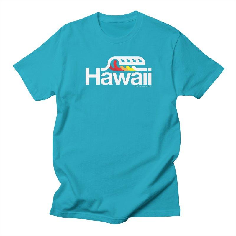 Hawaii Wave Women's Regular Unisex T-Shirt by WalkingStick Design's Artist Shop