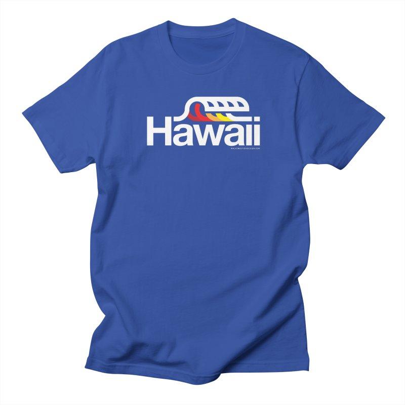 Hawaii Wave Men's Regular T-Shirt by walkingstickdesign's Artist Shop