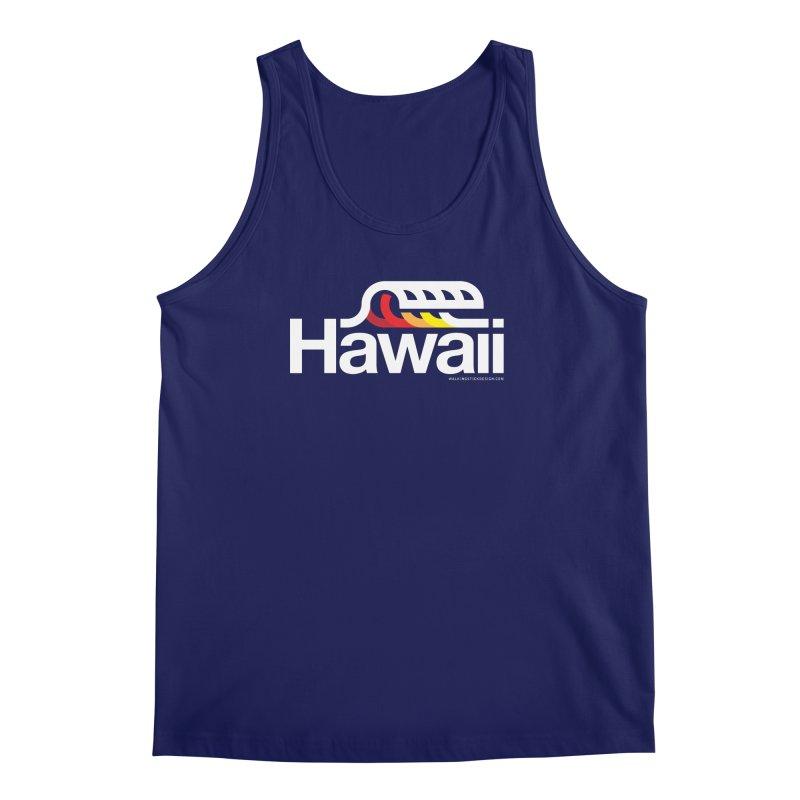 Hawaii Wave Men's Regular Tank by walkingstickdesign's Artist Shop