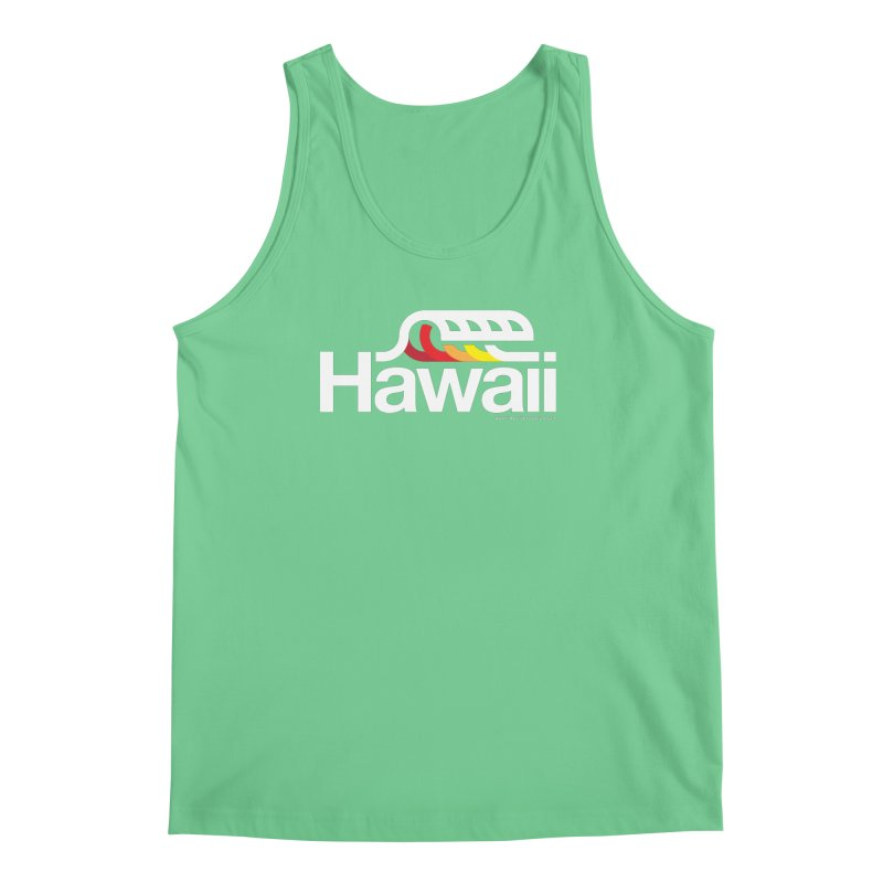 Hawaii Wave Men's Tank by walkingstickdesign's Artist Shop