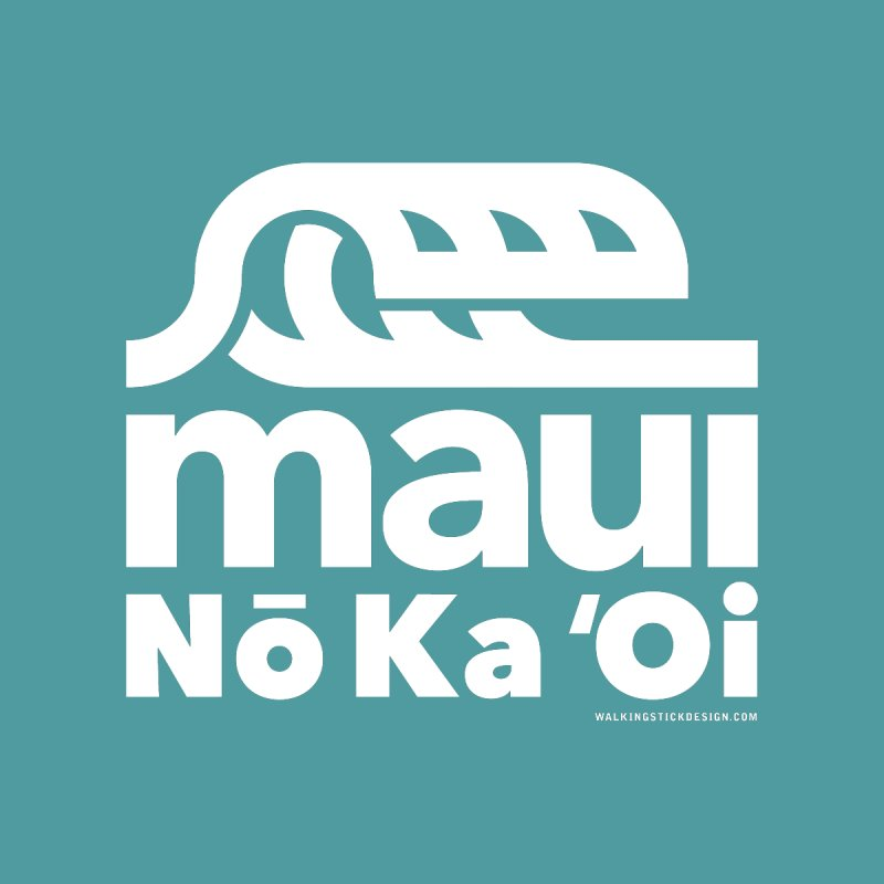 Maui Wave by walkingstickdesign's Artist Shop