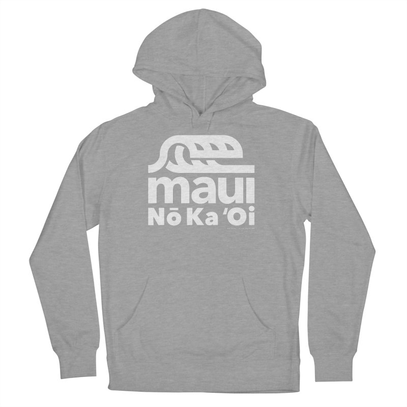 Maui Wave Women's French Terry Pullover Hoody by WalkingStick Design's Artist Shop